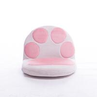 【优选】创意可爱卡通飘窗床上靠背椅日式榻榻米椅子猫爪懒人沙发坐椅