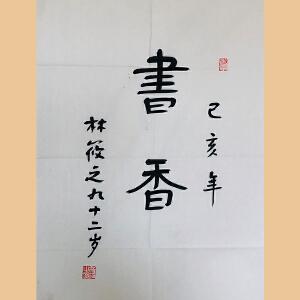 """草圣""""林散之""""之子 林筱之(书香)ZH595"""