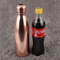 【优选】swell保温杯子不锈钢学生男女个性创意可乐瓶运动水壶潮定制印log