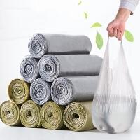 手提式加厚垃圾袋10卷装 点断背心式塑料袋家用厨房拉圾袋