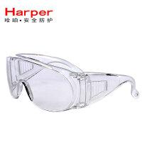 防护眼镜护目镜劳保防飞溅防尘冲击防风沙打磨骑行防风镜透明男女