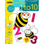 Counting 1 to 10 (Pre-school, Little Golden Book) 从1数到10(金色童书,学龄前练习册)9780307235626