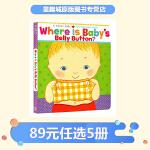 #【现货包邮】英文原版绘本 Karen Katz 宝宝的肚脐在哪里 Where Is Baby's Belly But