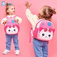 1-3-5岁儿童书包幼儿园宝宝小书包男女童背包可爱双肩包