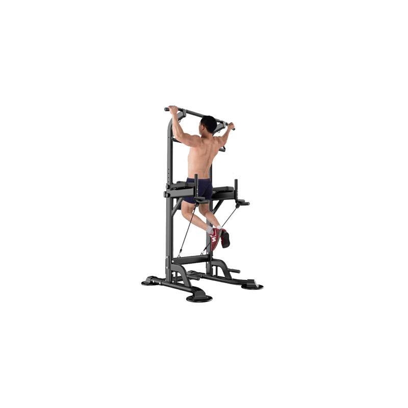 健身器材体育用品 引体向上器多功能家用单杠 单双杠训练器 黑白两款  拍下备注颜色 默认发黑色