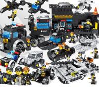 儿童军事拼插益智积木拼装玩具10兼容乐高积木拼插益智积木流浪地球男孩子绝地拼图求生