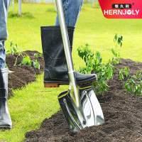 铁锹农用户外全钢铲子加厚挖土园艺种树工具赶海不锈钢大铁锨铁铲