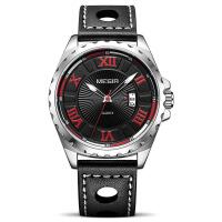 男士手表 新款时尚运动日历皮带石英男士手表