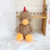 英国害羞系列动物公仔小鸡狗羊猪狐狸兔子毛绒玩具儿童礼物批发