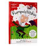 侏儒怪 童话学语音 Reading with Phonics Rumpelstiltskin 英文原版绘本 经典童话自
