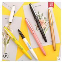 毕加索606财务钢笔办公学生书法练字笔0.38mm