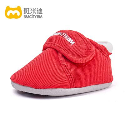 2019春夏新款 机能鞋女宝宝婴儿鞋子0-1岁男童软底学步鞋