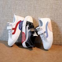 儿童帆布鞋男童小白鞋女童鞋学生白色运动鞋学校表演鞋子