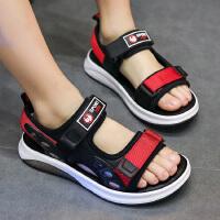 2019夏季新款韩版男童凉鞋学生小孩软底沙滩鞋儿童中大童男孩鞋子