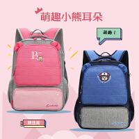 1-3年级小学生女男孩儿童书包双肩包可爱轻便小清新背包