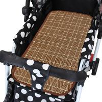 夏季婴儿推车席子藤席新生儿凉席幼儿宝宝BB儿童亚麻童车草席zf10 其它