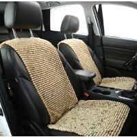小蛮腰菩提子汽车坐垫通用单片夏季凉垫 靠背三件套木珠制冷坐垫