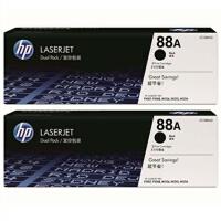惠普 LaserJet CC388A Dtwins双包硒鼓套装 HP CC388AD双包装(两只优惠套装) HP88A 388A hp1108硒鼓 适用激光打印机:HP P1007/P1008/P1106/P1108 HP M1136/1213nf/1216nfh