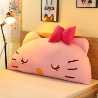 秋上新卡通床头靠垫可爱韩式大靠背可拆洗榻榻米软包靠枕儿童公主风床靠定制