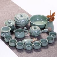 20190610121347731家用整套哥窑陶瓷茶具套装汝窑功夫茶杯冰裂釉茶壶茶道盖碗礼盒