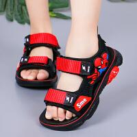 中大童韩版男女童运动凉鞋2019夏季新款儿童凉鞋软底鞋