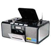 赠16G优盘+耳机+空白磁带!熊猫CD机 CD500 磁带录放机 全功能复读机(视频同步) 胎教机 收音机电子调谐 卡