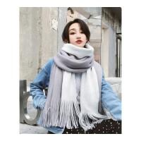 围巾女冬季韩版新款百搭长款加厚披肩两用软妹学生针织毛线围脖冬