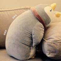 企鹅公仔毛绒玩具布娃娃男女孩宝宝睡觉抱枕儿童新年礼物可爱枕头 挤软企鹅