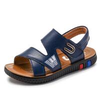 2019夏季新款男童凉鞋小男孩儿童凉鞋男宝宝沙滩鞋中大童软底鞋