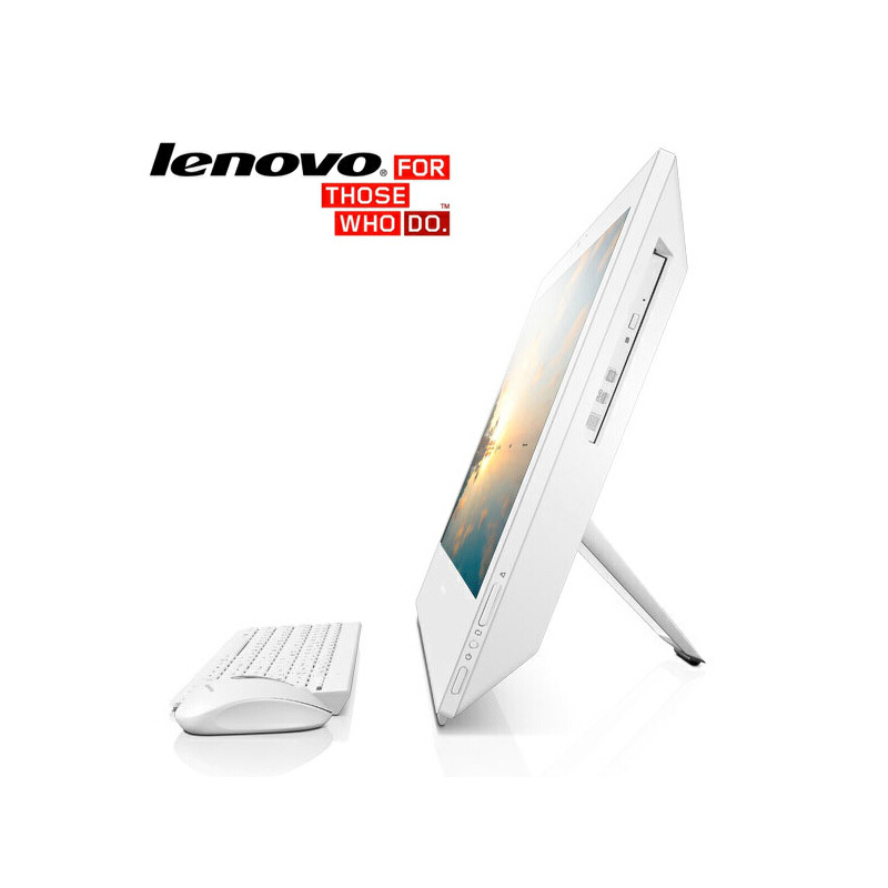 联想扬天S4150一体式电脑(i3-6100T/触摸屏),21.5英寸液晶显示器 联想一体台式机 联想一体电脑 内置Wifi无线/摄像头 联想商用触控电脑 多点触控·节省空间·时尚外观·全能一体