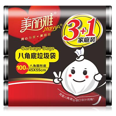 [当当自营]美丽雅 八角垃圾袋100只 45x55cm HC050174