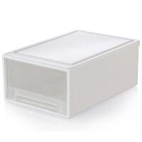 加厚大号透明抽屉式收纳箱塑料衣柜衣物整理箱储物箱收纳盒整理盒