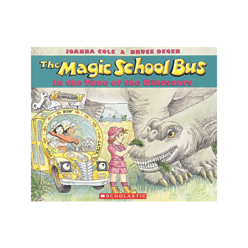 Magic School Bus in the Time of the Dinosaurs神奇校车-回归恐龙时代  9780590446891