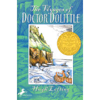 The Voyages of Doctor Dolittle 杜立特医生航海记 1923年纽伯瑞金奖小说 ISBN 9