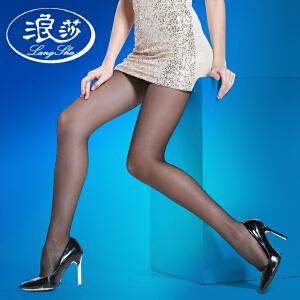 浪莎丝袜子 女士超薄丝袜包芯丝加裆连裤袜夏季打底袜 10条
