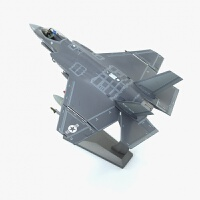 su35战斗机模型1:72飞机模型F35闪电战斗机模型F35C合金飞机模型F35B合金模型送朋友礼品
