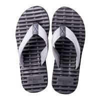 按摩人字拖男潮夏休闲简约夹脚凉鞋软底防滑拖鞋个性沙滩鞋大码