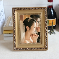 实木相框创意5 6 7 8 12寸a4摆台欧式照片儿童画框挂墙定做