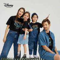 6.21超品【3件2.8折:47.5元】迪士尼童装亲子装短袖T恤儿童父母一家三口2021新款洋气纯棉上衣