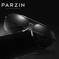 帕森新款太阳眼镜 男士板材偏光太阳镜 蛤蟆驾驶时尚墨镜8033