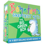 Boynton's Greatest Hits 绿盒子套装 博因顿力作 英文儿童故事
