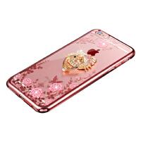 苹果iPhoneX/7/8壳+钢化膜 苹果6/6s/6plus手机壳套iPhone5/5s/se硅胶保护壳套女潮电镀边