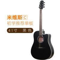 S/C/2s单板吉他入门木吉他初学者学生女男41寸儿童民谣吉他