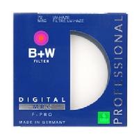 B+W 72mm UV 72单层镀膜UV镜 正品行货 带防伪