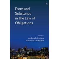 预订Form and Substance in the Law of Obligations