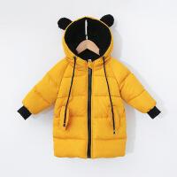 反季新款儿童棉衣宝宝冬装中长款男女童棉袄加厚羽绒外套