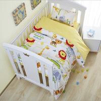 幼儿园被子三件套午睡含芯定做花被儿童被套婴儿床上用品