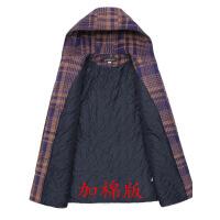 女士新款妈妈装秋装加棉毛呢外套中老年女装秋冬装中长款呢子大衣