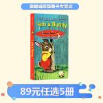 现货包邮 我是一只兔子 I Am a Bunny 进口英文原版绘本 0 3岁国外经典 金色斯凯瑞童书 儿童绘本早教启蒙