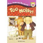 英文原版 TOO NOISY 太吵了 汪培�E第一阶段 Penguin Group pic 分级读物